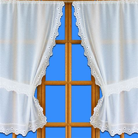 tie back lace curtains