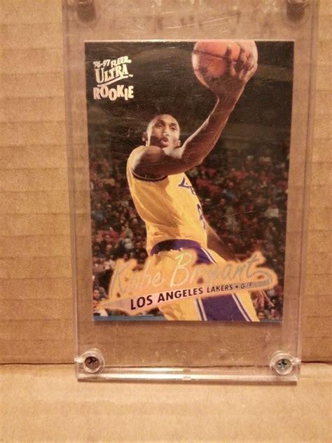 Kobe bryant ex to nm. 96/97 Fleer Ultra Kobe Bryant Rookie Card #52 | Kobe ...