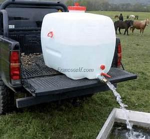 Tonne A Eau Plastique : r servoir eau de 100l 500l mobile pe francoself ~ Dailycaller-alerts.com Idées de Décoration