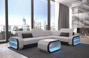 Led Sofa : modern sectional sofa seattle led lights fabric mineva 2 ~ Pilothousefishingboats.com Haus und Dekorationen