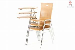 Stuhl Mit Schreibplatte : collegest hle stapelbar co ~ Frokenaadalensverden.com Haus und Dekorationen