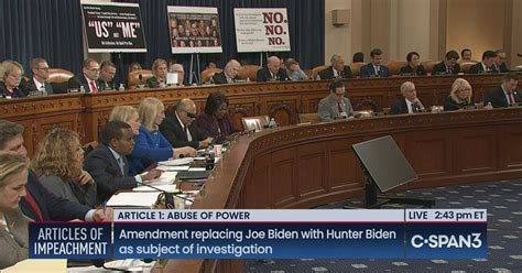 House Judiciary Committee Articles of Impeachment Debate ...