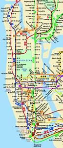 Plan De Manhattan : milly philippe love ny ressources cartographiques ~ Melissatoandfro.com Idées de Décoration