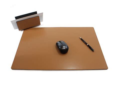 garniture de bureau en cuir sous de bureau en cuir noir