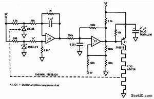 Temperature Controller For Quartz Crystal Ovens