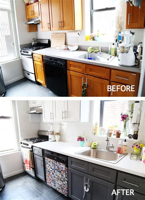 apartment kitchen makeover sprucing up the kitchen with a mini makeover 1311