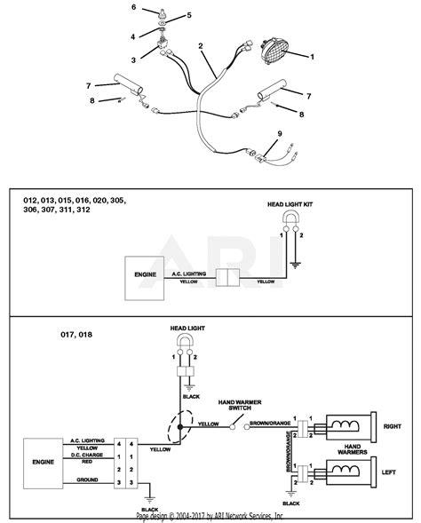 ariens 921012 000101 deluxe 27 parts diagram for