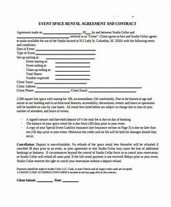 event space rental agreement template emsecinfo With event space rental contract template