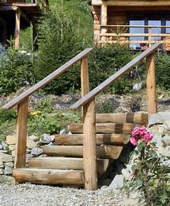 Holztreppe Außen Selber Bauen : gartentreppe selber bauen 47 gestaltungsideen und tipps ~ Buech-reservation.com Haus und Dekorationen