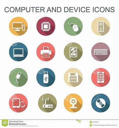Symbols Computer Icons Shadow Device Signs Vector