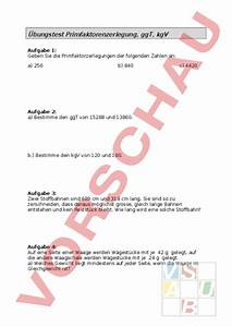 Ggt Und Kgv Berechnen : mathematik algebra ggt ~ Themetempest.com Abrechnung