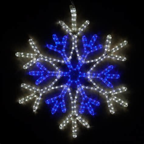 snowflakes stars  led  point star center