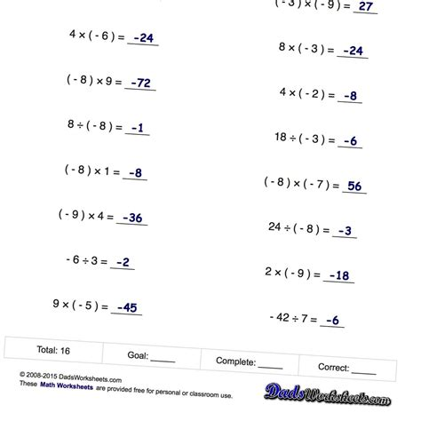 adding and subtracting positive and negative integers