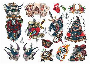 Temporary Tattoos Guru Vintage Style Rockabilly Amazing ...