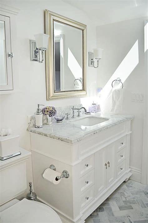 carrara marble bathroom ideas guest bathroom carrara marble white bathroom
