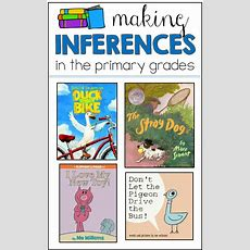 Making Inferences Lessons And Some Freebies!  Science  Making Inferences, First Grade Reading
