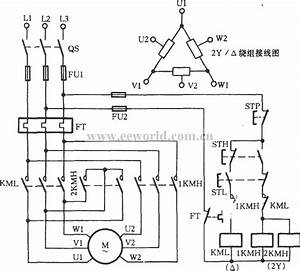 Three Phase Motor Dual Speed 2y Connection Control Inside Electric Wiring Diagram 3