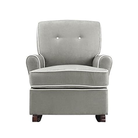 baby relax the tinsley nursery glider chair grey