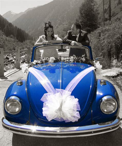 bow ribbons tulle wedding car decoration