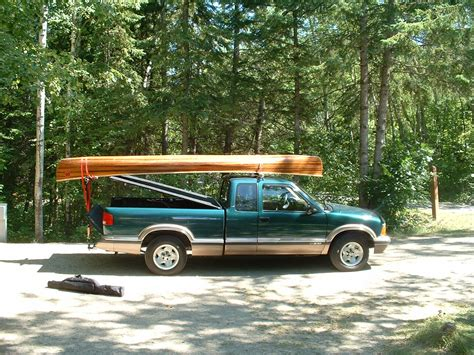 how to build a kayak rack for truck canoe racks for ftempo