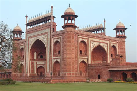Agra Fort And Taj Mahal My Year In India