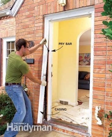 replace  exterior door home repair home