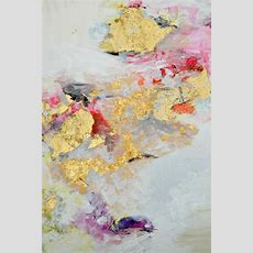 Gold Leaf Art On Pinterest  Large Canvas Paintings