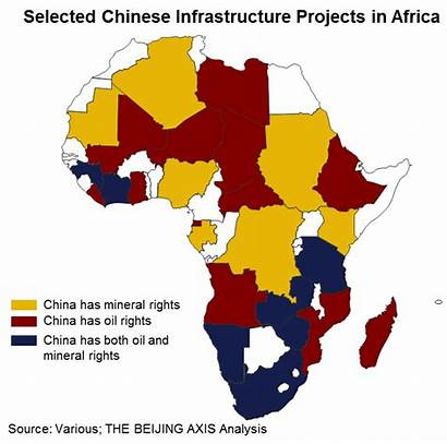 China Africa African Continent South Chinese Infrastructure