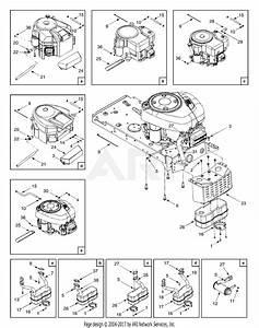 Mtd 13ac762f729  2005  Parts Diagram For Engine Accessories