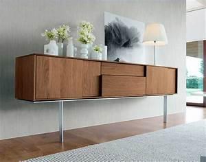 Sideboard Mit Füßen : sideboard modern holz mit schiebet ren in einem zeitgen ssischen stil und fu hohe aus edelstahl ~ Sanjose-hotels-ca.com Haus und Dekorationen