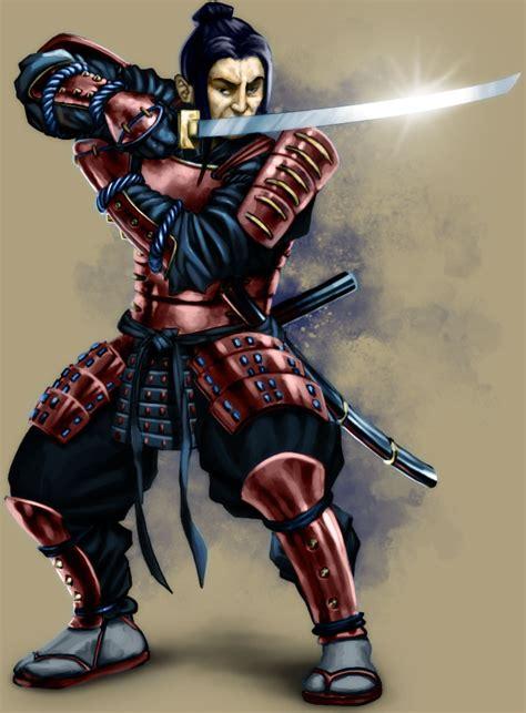 Samurai By Akeiron On Deviantart