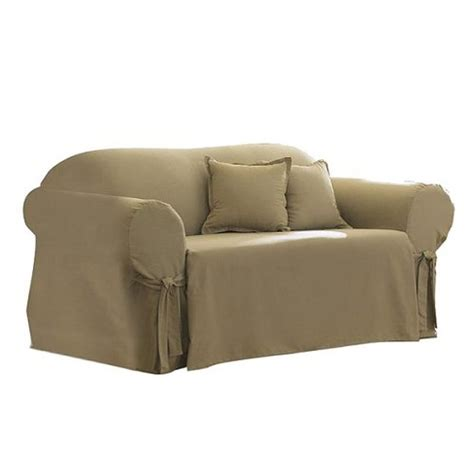 Cotton Duck Loveseat Slipcover by Cotton Duck Sofa Slipcover Sure Fit Target