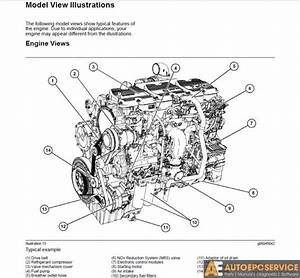 4 Cylinder Perkin Diesel Engine Diagram