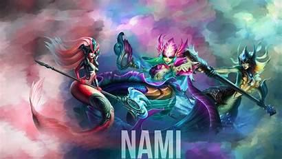 Nami Skins League Legends Wallpapers Fan Counters