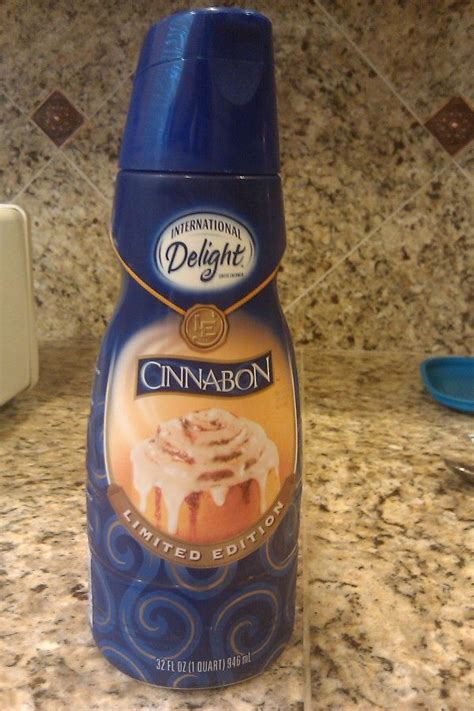 """*the % daily value tells you how much a nutrient in a serving of food contributes to a daily diet. """"best thing ever"""" says @mainlyheaven on Twitter // Cinnabon Coffee Creamer by International ..."""