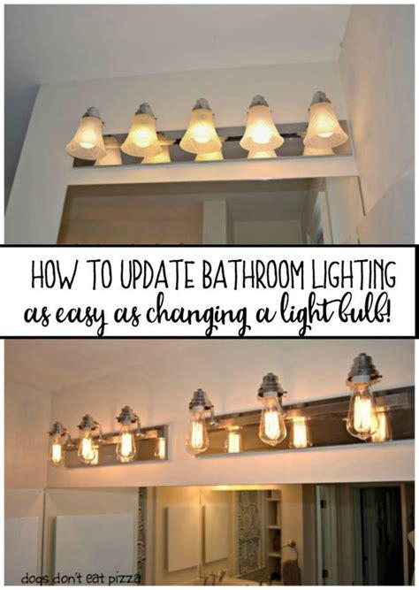 rustic bathroom lighting ideas  pinterest
