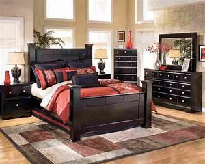 Black, Wood, Bedroom, Furniture