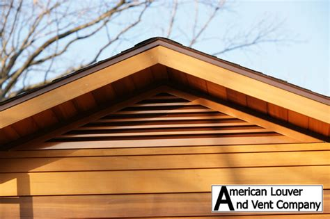 cedar gable vents gable attic vent louvers traditional salt lake city 2031