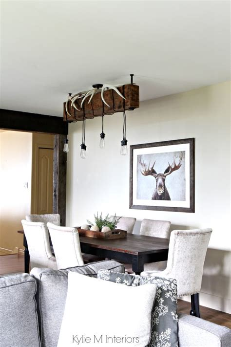 rustic country  hunting decor   dining room benjamin