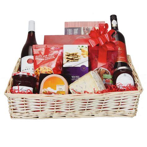 large christmas her kit cellophane bow craft basket