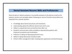 Resume Dental Assistant No Experience Images