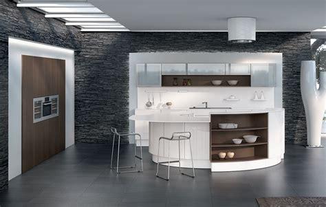 cuisine blanche design cuisine design blanche avec îlot
