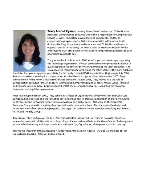 executive bio format executive bio
