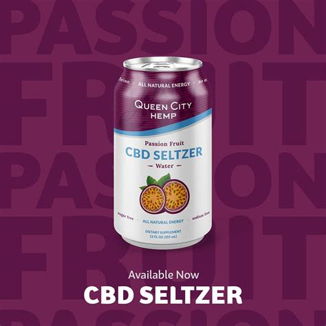 passion fruit cbd seltzer water  rain barrels