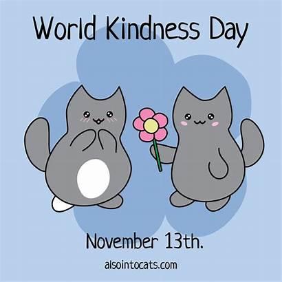 Kindness November 13th Clipart Kittens Wish Flower