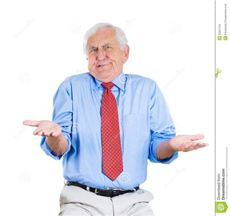 Senior Guy, So What, Who Cares? Stock Images  Image 33321744