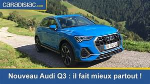 Nouveau Q3 Audi : essai audi q3 2019 le sens de la famille youtube ~ Medecine-chirurgie-esthetiques.com Avis de Voitures