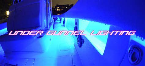 Under Gunnel Led Boat Lights by Light The Night Boat Lights