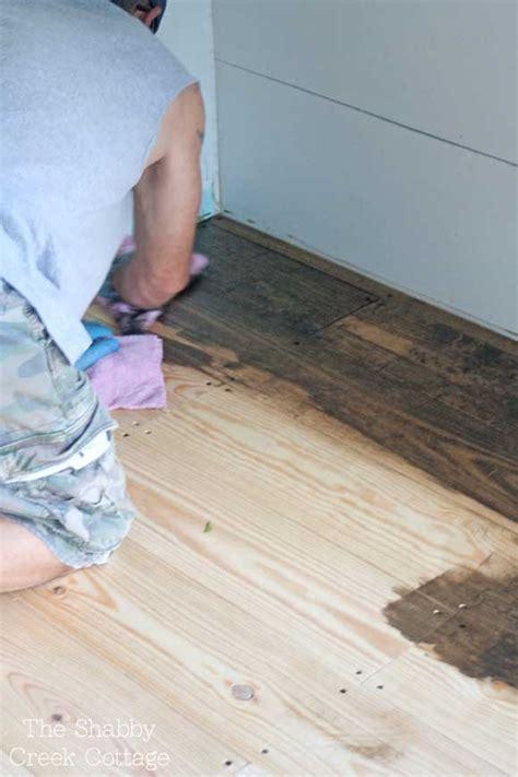 cheap bathroom floor ideas diy wood floors