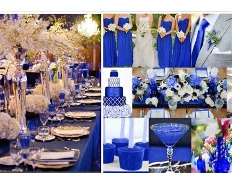royal blue wedding ideas youtube